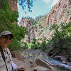 Day 1. Zion. We rest by the river.