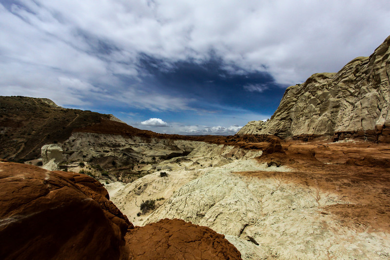 Day 4. still headed to toadstools and the land was like a different planet.
