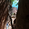 Day 1. Zion. In the middle to the middle pools.