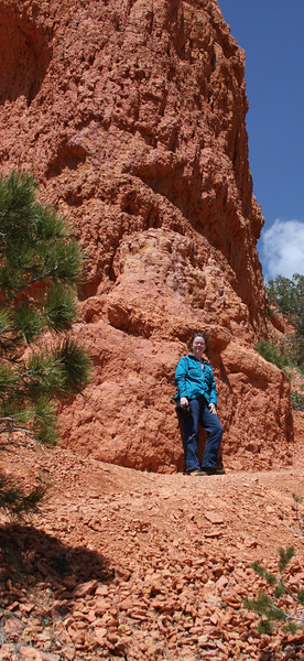 Day 3. Me by the Red Rock