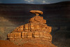 Mexican Hat in Arizona. Note how lucky I was with the shadow of a cloud for the background!