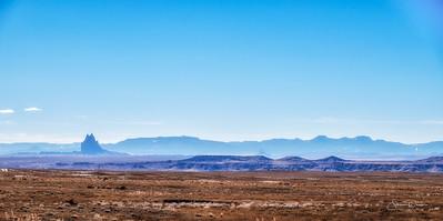 Mountain Range in Wyoming
