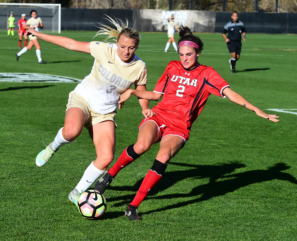 Colorado Utah NCAA Soccer