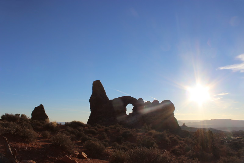 Turret Arch at Twilight