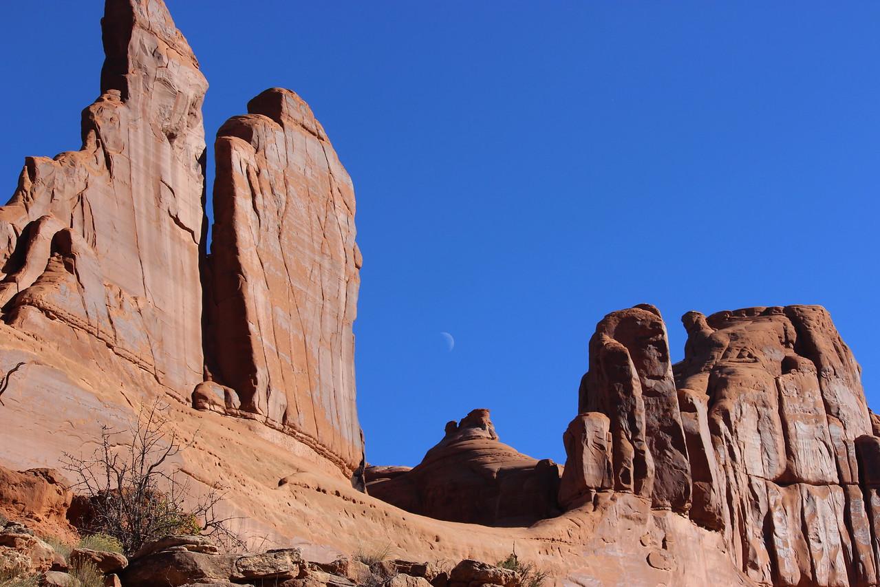 Moon over Moab