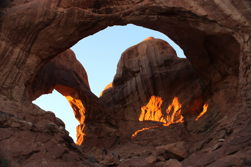 Light and Shadow in the Double Arch
