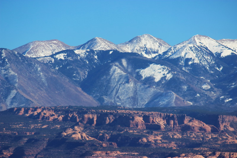 La Sal Moutains