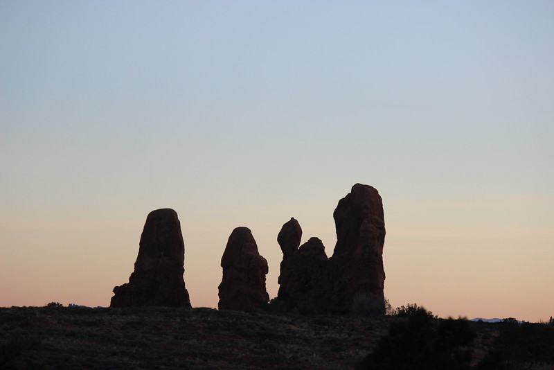 Spires at Sunset