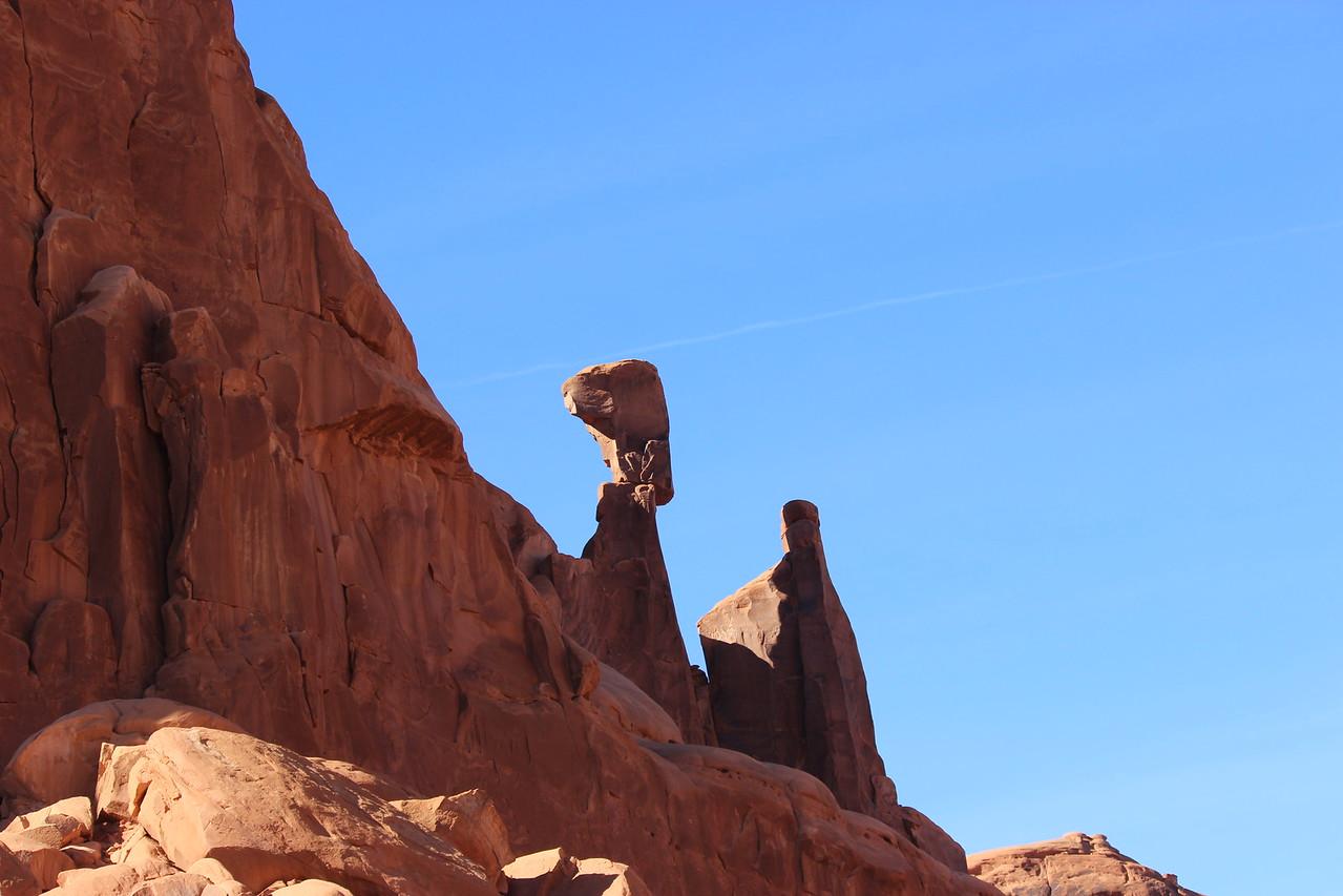 Balancing Rock and Spire