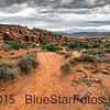 Fiery Furnace trail to overlook