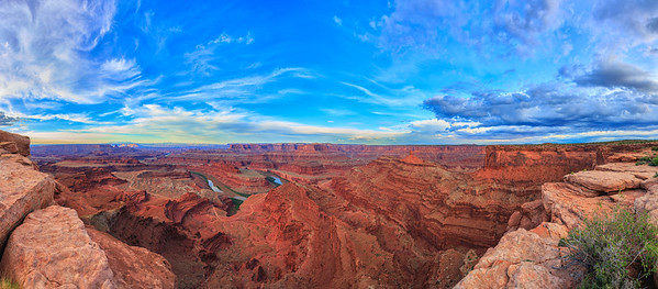 Waking Light At Dead Horse Point