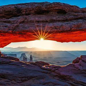 Mesa Arch Sunburst - Square