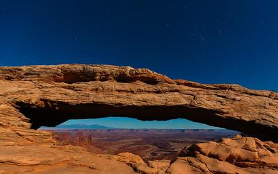 Moonlit Mesa Arch & Buck Canyon 2