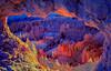 A window into the Queen's Garden in Bryce Canyon National Park, Utah, USA.