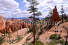 Day hikers in Utah's Bryce Canyon National Park - 27 - 72 ppi