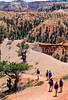 Day hikers in Utah's Bryce Canyon National Park - 35 - 72 ppi