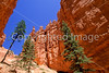 Day hikers in Utah's Bryce Canyon National Park - 30 - 72 ppi