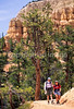 Day hikers in Utah's Bryce Canyon National Park - 88 - 72 ppi