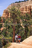Day hikers in Utah's Bryce Canyon National Park - 52 - 72 ppi