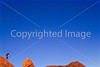 Hiker in Canyonlands National Park, Utah - 17 - 72 ppi