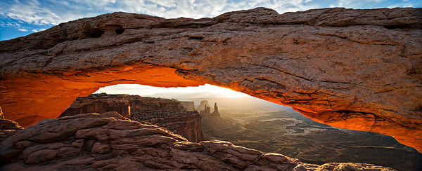 Mesa Arch Sunrise, Canyonlands NP TS-E 24mm - 3 image stitch