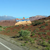 Hwy 95, southern Utah. Entering Glen Canyon Recreation Area