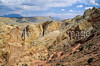 Mountain biker on Utah's Burr Trail -  - 72 ppi