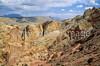 Mountain biker on Utah's Burr Trail -  - 72 ppi