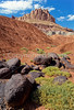 Day hiker in Capitol Reef Nat'l Park, Utah - 8 - 72 ppi