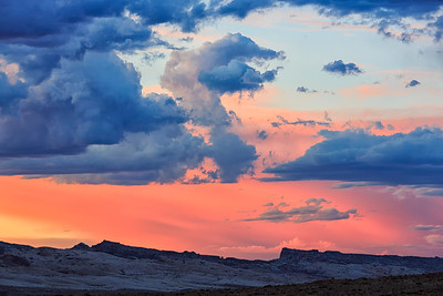 Sunset over San Rafael Swell
