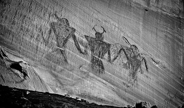 Calf Creek - Pictographs
