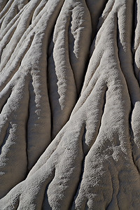 Flowing Entrada Sandstone - Wahweap Wash