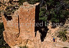 Hiker at Hovenweep National Monument on Utah-Colorado border - 15 - 72 ppi