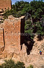 Hiker at Hovenweep National Monument on Utah-Colorado border - 17 - 72 ppi