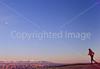 Runner on Gemini Bridges Trail near Moab, Utah - 10#3 - 72 pp