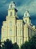 LDS Temple in Manti, Utah - 2 - 72 ppi