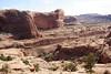 railroad cut near Moab