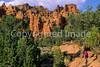 Mountain biker in Casto Canyon near Bryce Canyon Nat'l Park, Utah - 4 - 72 ppi
