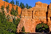 Cycle Utah riders in Red Canyon near Bryce Canyon Nat'l Park - 2