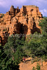 Mountain biker in Casto Canyon near Bryce Canyon Nat'l Park, Utah - 1 - 72 ppi