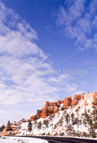 Scenery in Utah's Red Canyon near Bryce Canyon Nat'l Park - 17 - 72 ppi