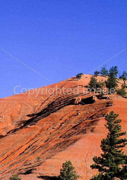 Scenery in Utah's Red Canyon near Bryce Canyon Nat'l Park - 9 - 72 ppi