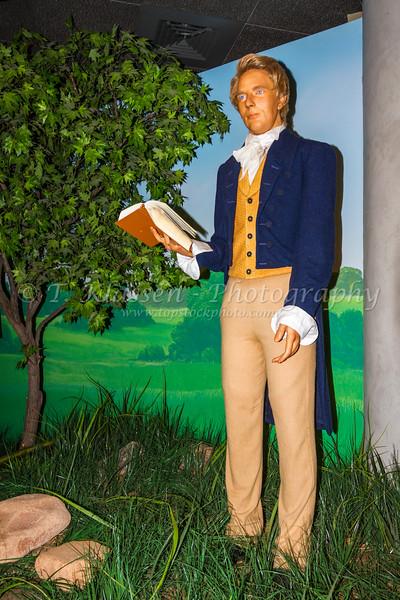 Interior diorama at the Mormon Vistors Center in Salt Lake City, Utah, USA.