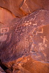 Sand Island Petroglyphs - East Cliffs