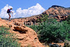 Snow Canyon State Park, Utah - hiker - 1 - 72 ppi