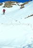 SN ut wstc 24 - ORps - Backpacker on snowshoes in Utah's Wasatch Mountains near Salt Lake City, Utah - 72 ppi
