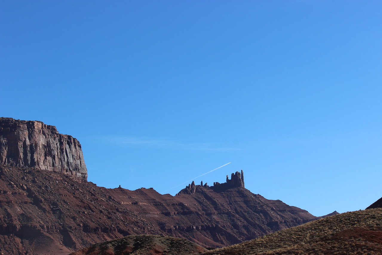 Fisher Towers and Cliffs in Professor Valley