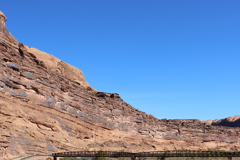 Mountain Bike Bridge across the Colorado River