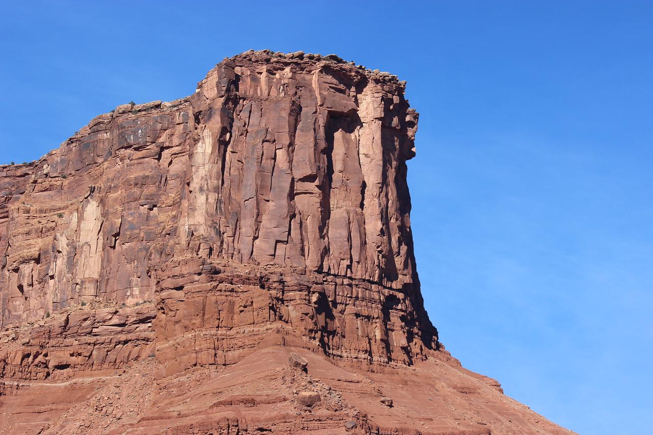 High Cliff in Professor Valley