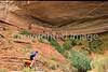 Biker at 16 House Ruin on Navajo Res  near Bluff, Utah - 20 - 72 ppi